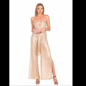 NWT ! Brand New Gold Jumpsuit